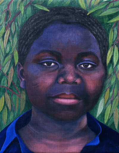 Portrait of Black Girk